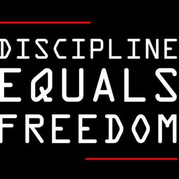 No Discipline – No Healing